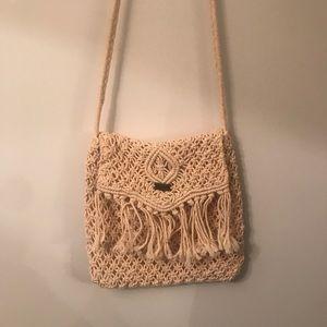 ROXY crochet purse